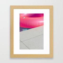Floatie Framed Art Print