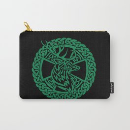Celtic Nature Deer Carry-All Pouch