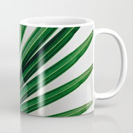 Palm Leaf Detail Coffee Mug