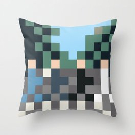 Shabby Road Throw Pillow