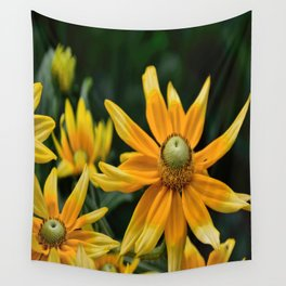 Golden Yellow Wall Tapestry