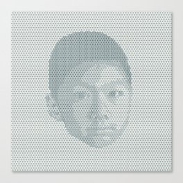 Tessellated Portraits - T.A. Canvas Print