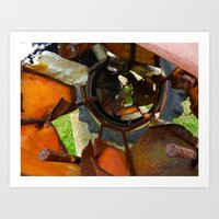 metal Art Prints featuring Metal by BriS