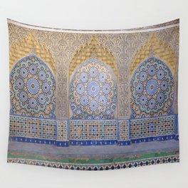 Moroccan Mosaics Wall Tapestry
