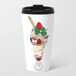 Strawberry Sundae Travel Mug