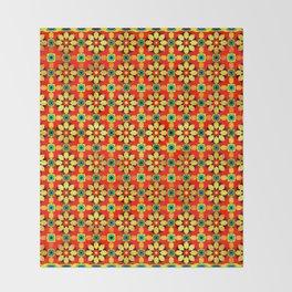 Polka Marble Pattern Throw Blanket