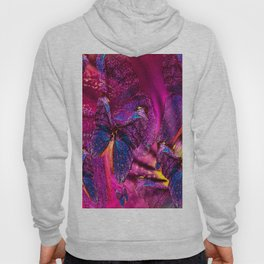 Butterflies Celebration In Pink And Purple Colors #decor #society6 Hoody