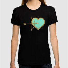 Cupid Love Aqua Mint T-shirt