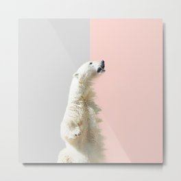 Polar Bear #society6 #decor #buyart Metal Print