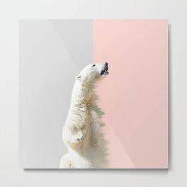 Polar Bear #society6 #decor #buyart Metal Print