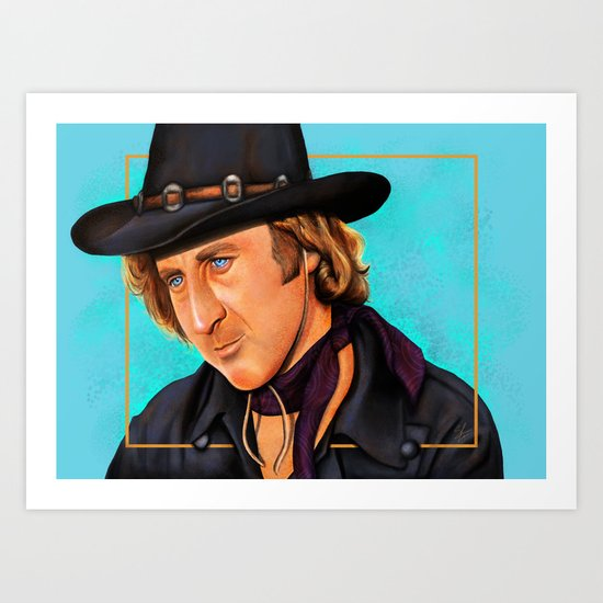 The Wilder Jim Art Print