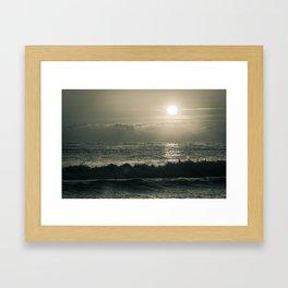 Atlantic Ocean Waves 4143 Framed Art Print