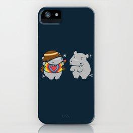 Hippypotamus iPhone Case