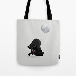 Beware, the Darth Star Tote Bag