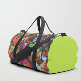 Happy Hobby-Horses Duffle Bag