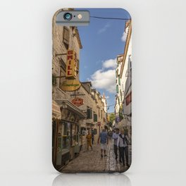 Trogir Backstreet iPhone Case