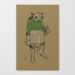 Orc - Male Canvas Print