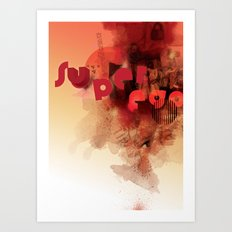 freud's superego Art Print