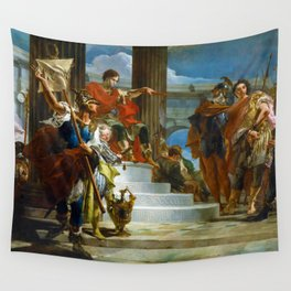 Scipio Africanus Freeing Massiva by Giovanni Battista Tiepolo (1721) Wall Tapestry