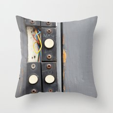 Doorbells Throw Pillow