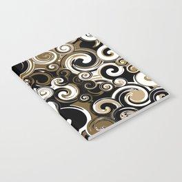 Coffee Swirls Notebook