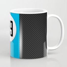 Brumos Racing Carbon Fibre design Coffee Mug