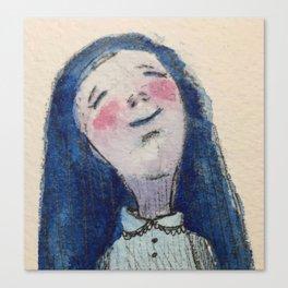Dreaming Girl Canvas Print