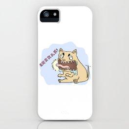 Barking Dog iPhone Case