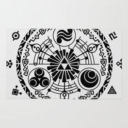 The Legend of Zelda Skyward Sword Gate of Time Rug