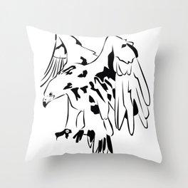 Eagle MW Throw Pillow
