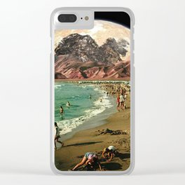 Uncharted Merriment Clear iPhone Case