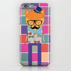 Hipster Fox Slim Case iPhone 6s