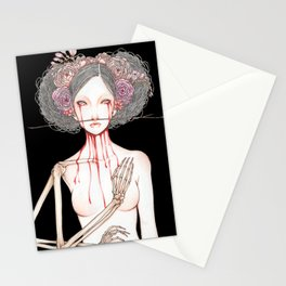 Morior Invictus Stationery Cards