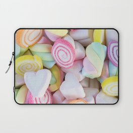 Pastel Rainbow Candy Laptop Sleeve