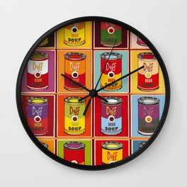 Icons Wall Clock