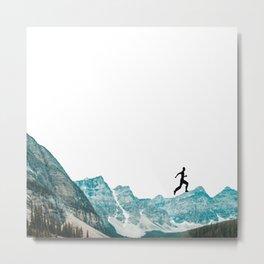 walking high Metal Print