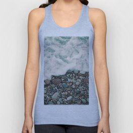 A Beautiful Spring Day at the Beach IV Unisex Tank Top