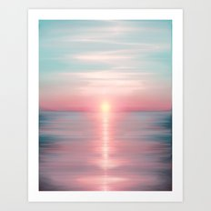 Sea of Love Art Print