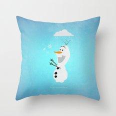 Olaf (Frozen) Throw Pillow