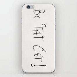 Be That Cat! iPhone Skin