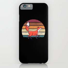 Fox Foxes Gifts iPhone Case