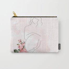 Mom to be Carry-All Pouch
