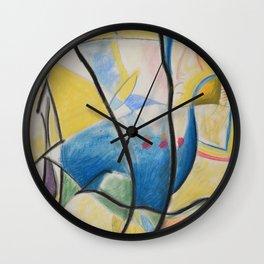 Figure Dance Wall Clock