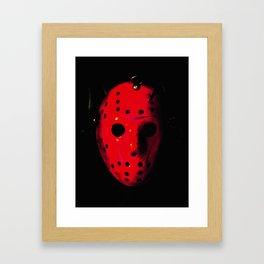 Jason - Blood Framed Art Print