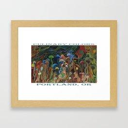 MUSHROOM 353 Framed Art Print