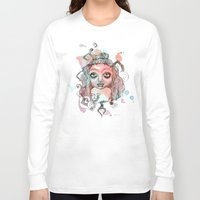 gypsy Long Sleeve T-shirts featuring Gypsy  by Kate Melendez