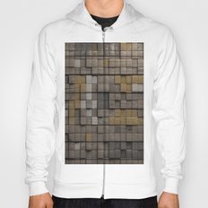 Wood pattern Hoody