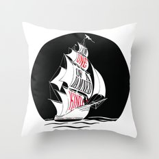 A Gathering of Shadows - One of a Damn Kind Throw Pillow