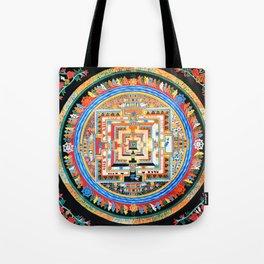 Mandala Buddhist 8 Tote Bag