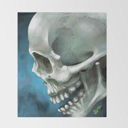 Skull 3 Throw Blanket